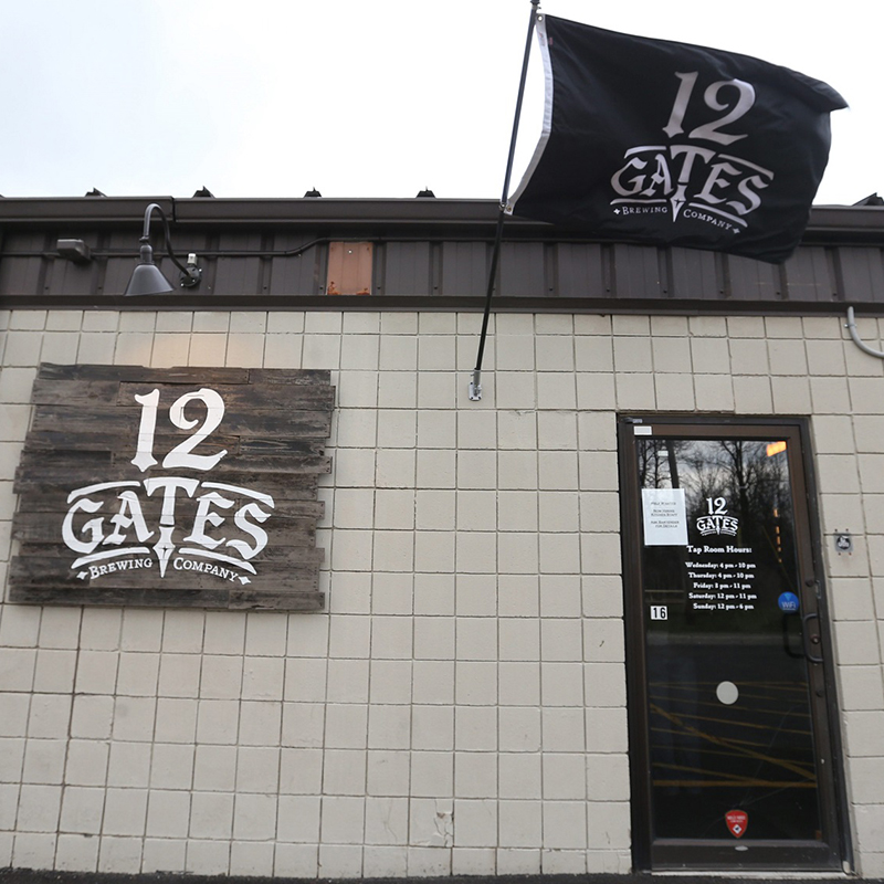 12 Gates Brewing Company at 80 Earhardt Drive in Williamsville opened in December.  Their primary focus is distribution of their beer to area businesses.  Photo taken, Friday, April 1, 2016.  (Sharon Cantillon/Buffalo News)