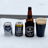 Buffalo Craft Beer in the snow