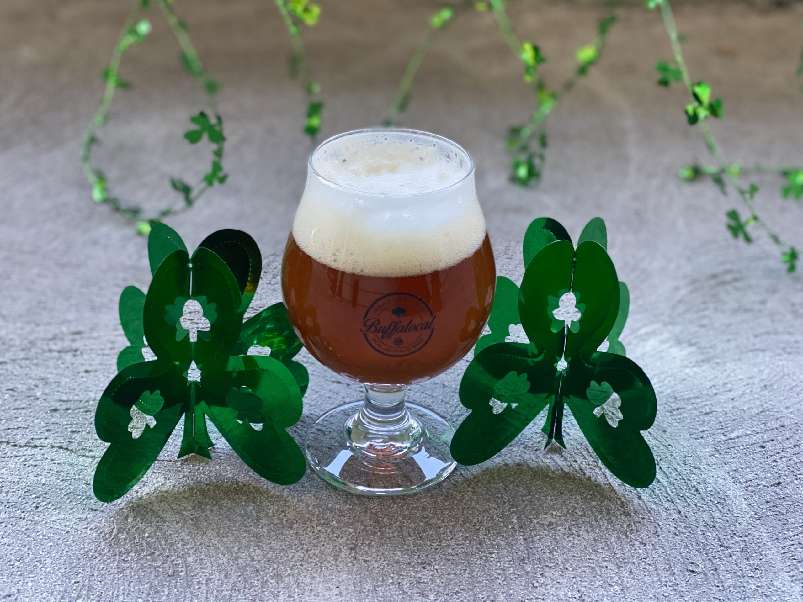 Buffalo craft beer Irish red