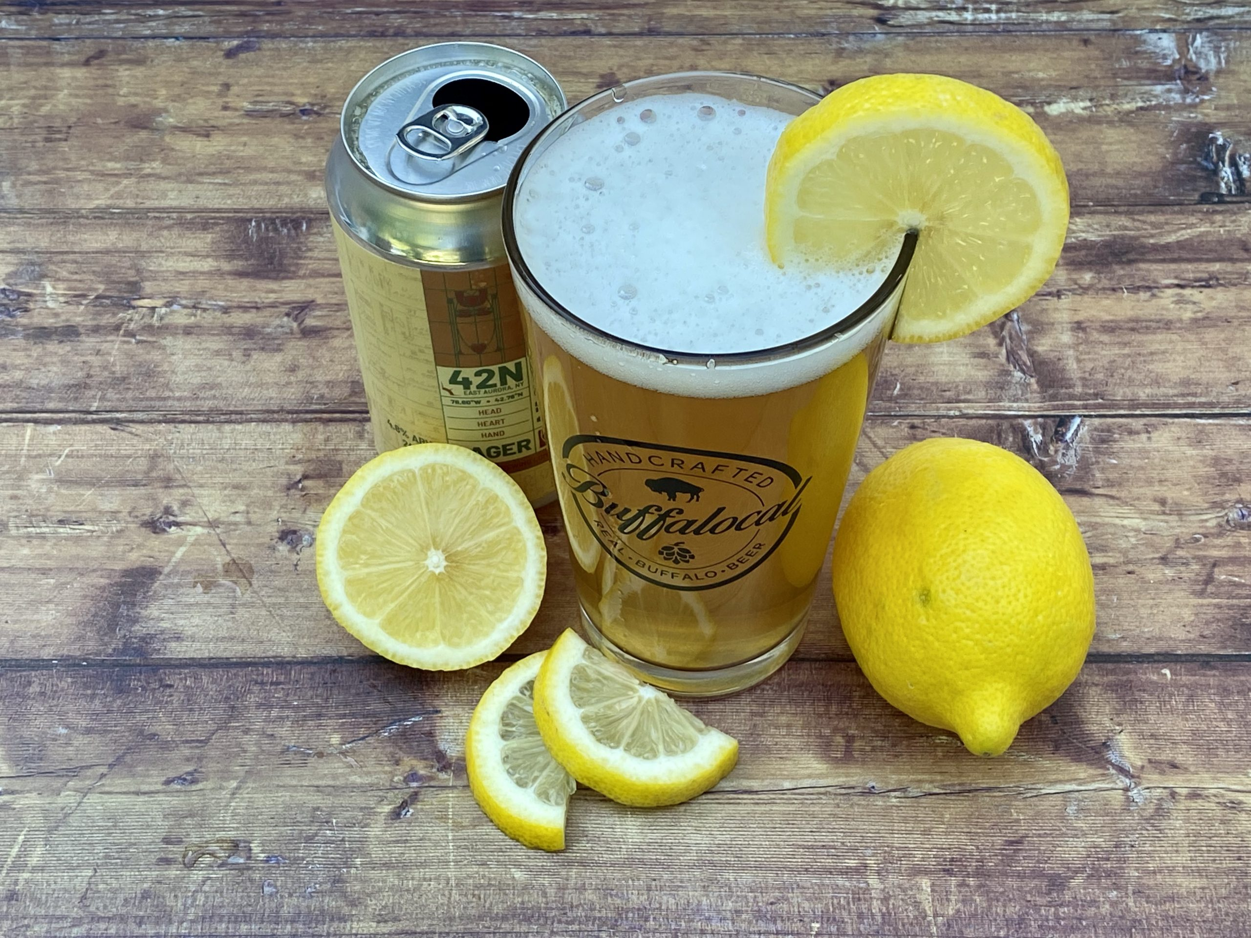 Buffalo craft lager radler