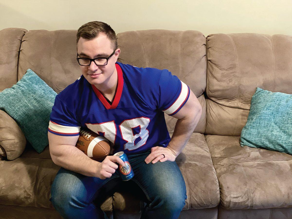Buffalo football fanatic