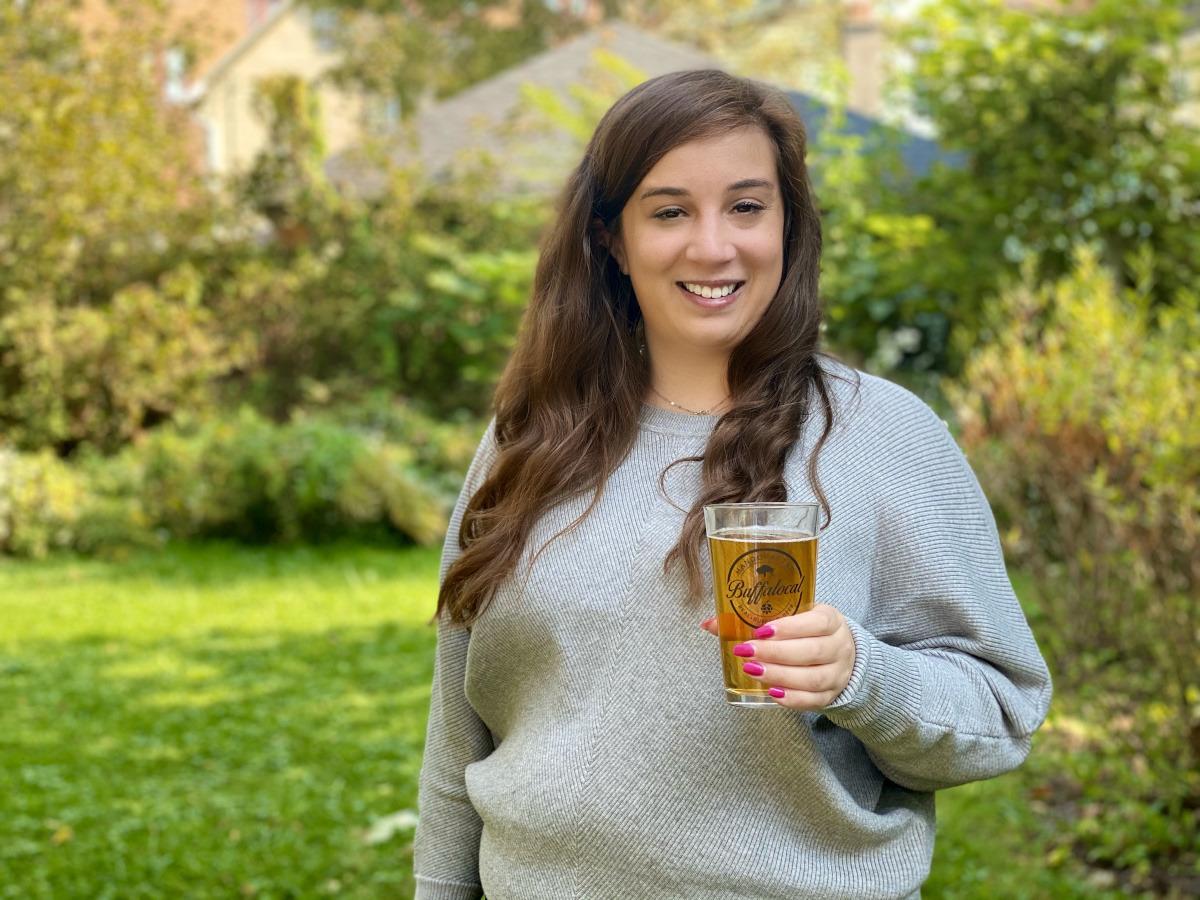 Drinking Buffalo Beer