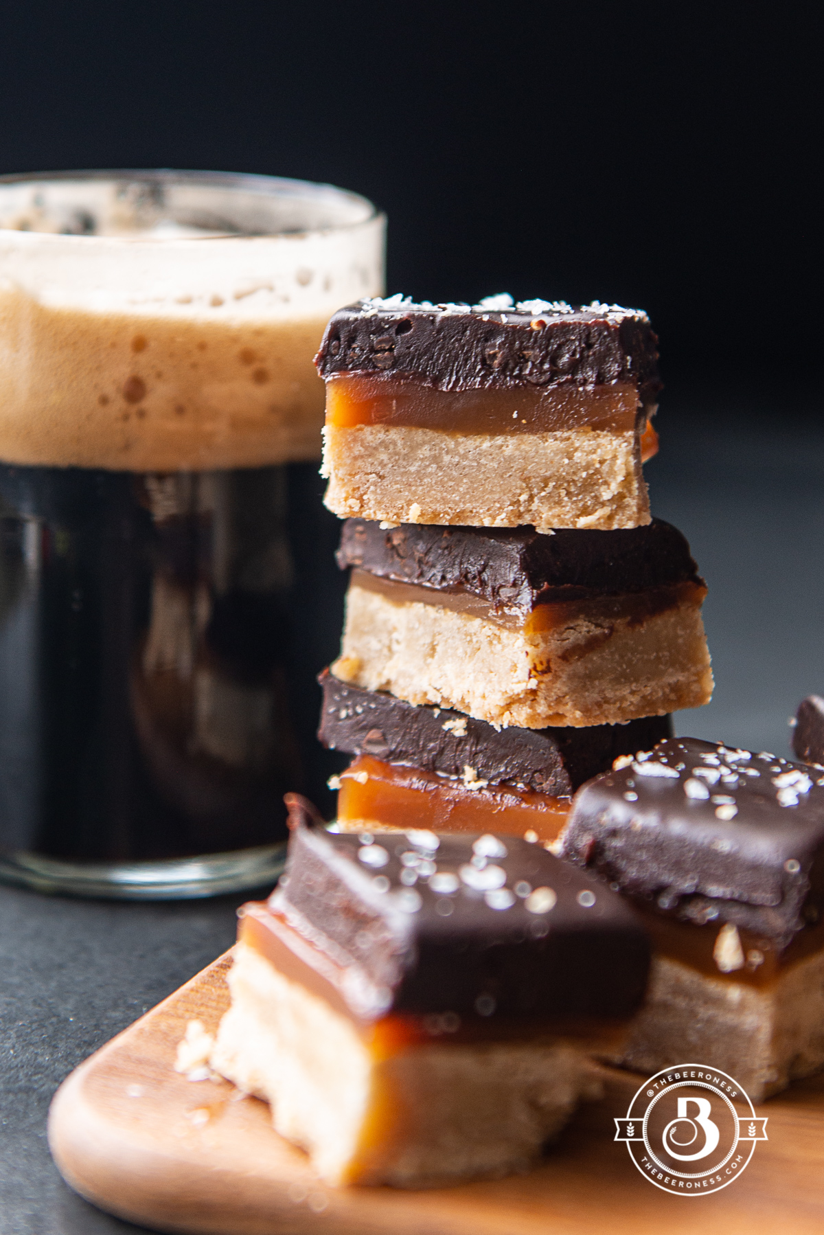 One of The Beeroness' dessert recipes