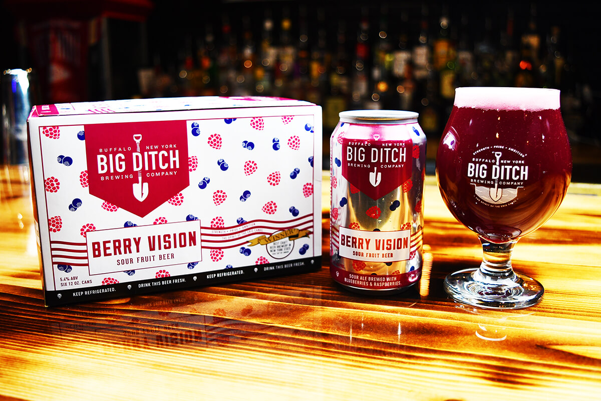 Berry Vision - Sour Fruit Beer - Big Ditch - Buffalocal