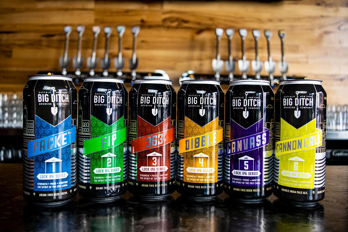 Lock IPA Series - Big Ditch Brewing - Buffalocal