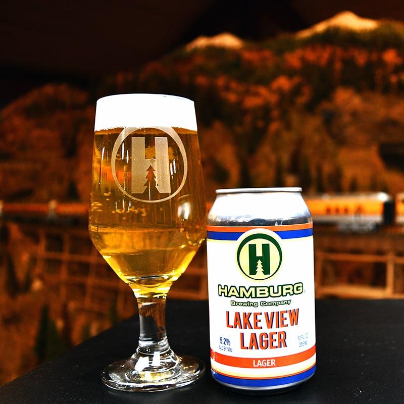 Lakeview Lager - Hamburg Brewing - Buffalocal