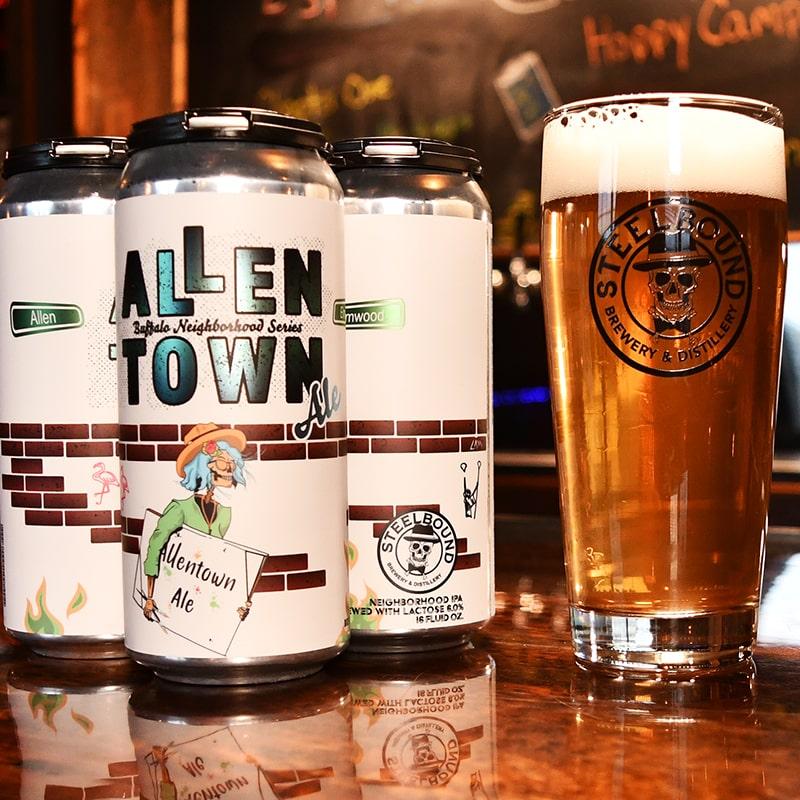 Allentown Ale - Steelbound Brewery - Buffalocal