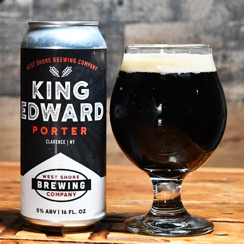 King Edward Porter - West Shore Brewing - Buffalocal