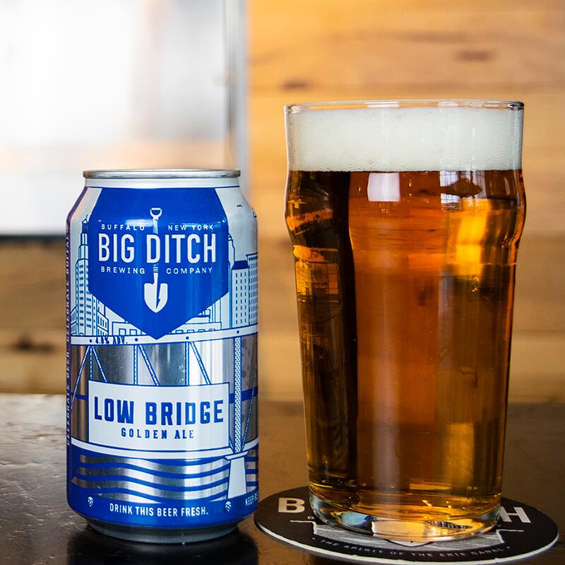 Low Bridge - Golden Ale - Big Ditch - Buffalocal