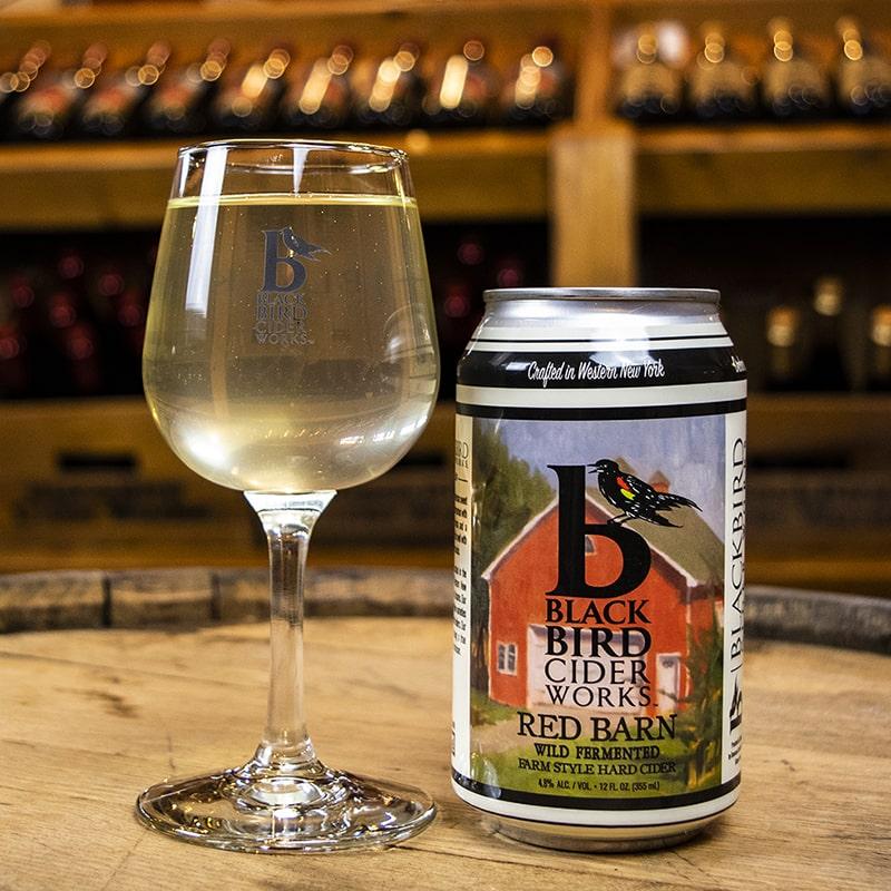 Red Barn Hard Cider - Black Bird Cider Works - Buffalocal