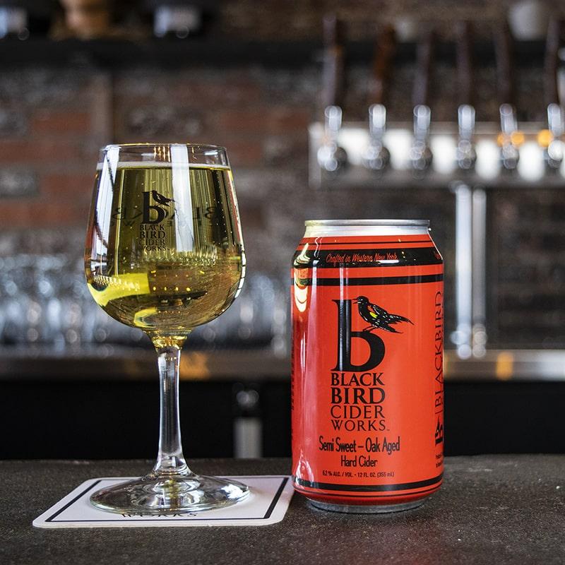 Semi Sweet Oak Aged Hard Cider - Black Bird Cider Works - Buffalocal