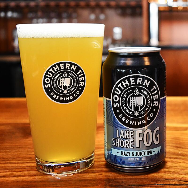 Lake Shore Fog Hazy Juicy IPA - Southern Tier Brewing - Buffalocal