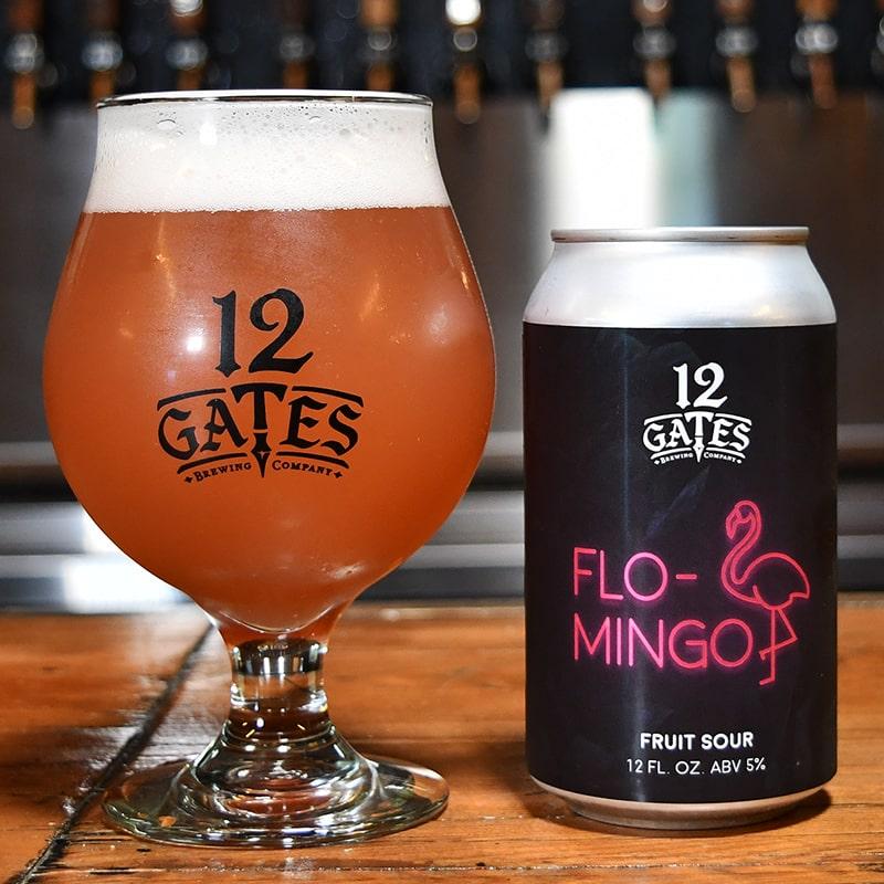 Flo-Mingo - Fruited Kettle Sour - 12 Gates - Buffalocal