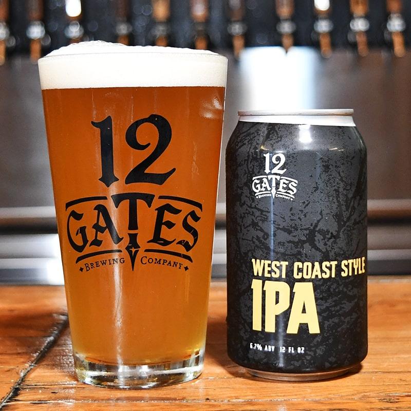 West Coast Style IPA - American IPA - 12 Gates - Buffalocal