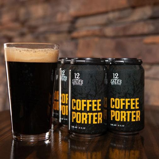 Coffee Porter - American Porter - 12 Gates - Buffalocal