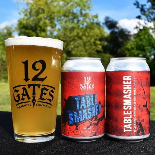 Table Smasher - Honey Kölsch - 12 Gates - Buffalocal