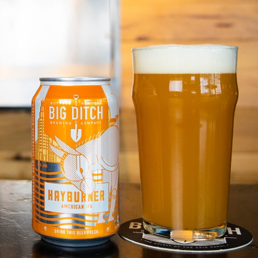 Hayburner - American IPA - Big Ditch - Buffalocal