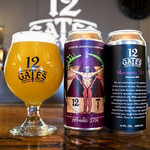 Hermetic IPA - 12 Gates Brewing - Buffalocal