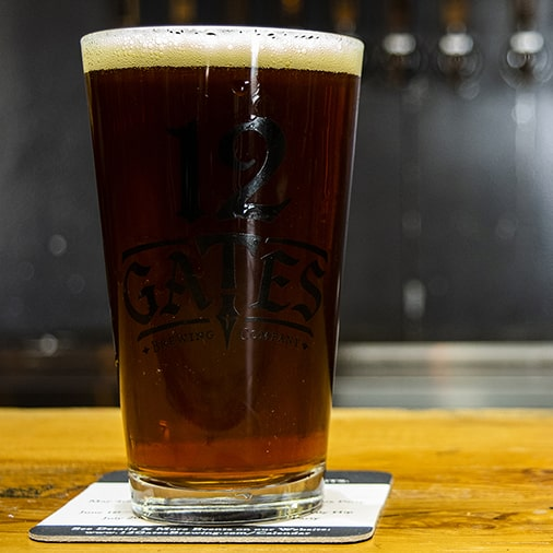 Red Lion Amber Ale - 12 Gates Brewing - Buffalocal