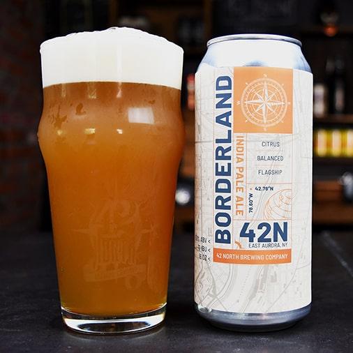 Borderland IPA - 42 North - Buffalocal
