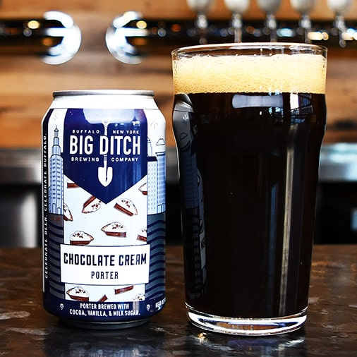 Chocolate Cream Porter - Big Ditch Brewing - Buffalocal