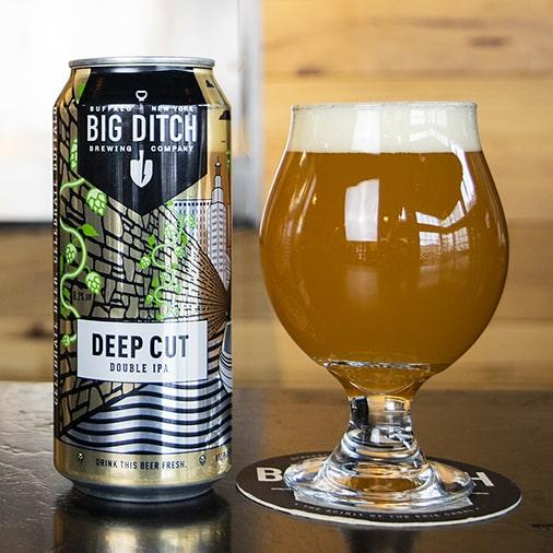Deep Cut Double IPA - Big Ditch Brewing - Buffalocal