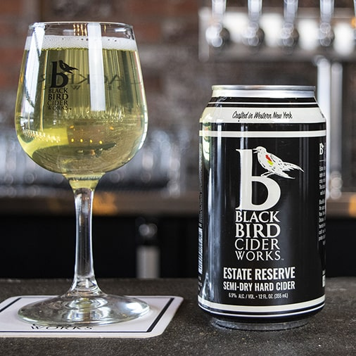 Estate Reserve Semi Dry Hard Cider - Black Bird Cider Works - Buffalocal