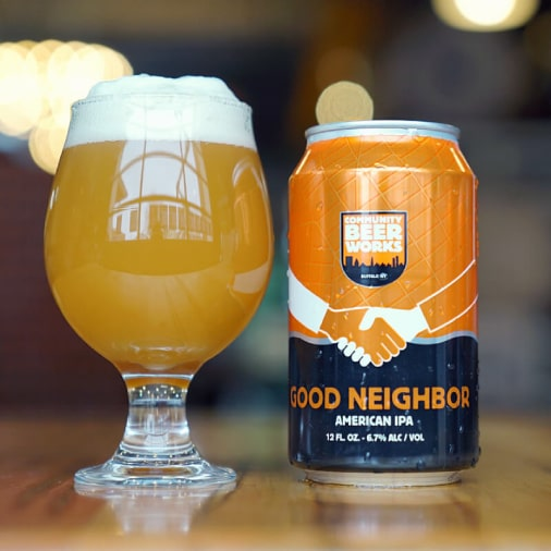 Good Neighbor American IPA - Community Beer Works - Buffalocal