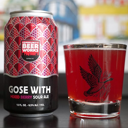 Goes with Mixed Berry Sour Ale - Community Beer Works - Buffalocal