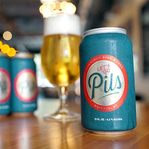 Let's Go Pils - Community Beer Works - Buffalocal