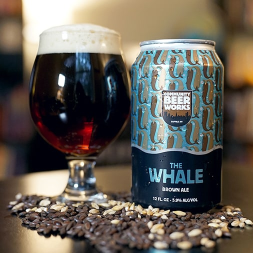 The Whale Brown Ale - Community Beer Works - Buffalocal