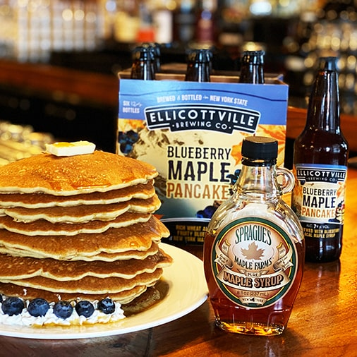Blueberry Maple Pancake Seasonal Wheat Ale - Ellicottville Brewing - Buffalocal