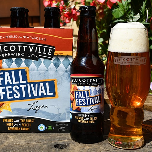 Fall Festival Lager - Ellicottville Brewing - Buffalocal