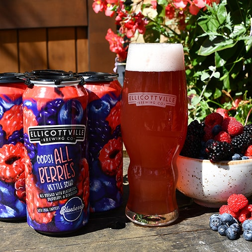 Oops! All Berries Kettle Sour - Ellicottville Brewing - Buffalocal