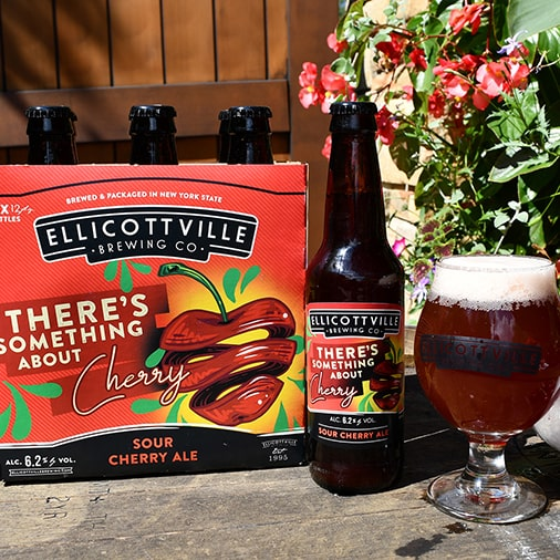 There's Something About Cherry Sour Cherry Ale - Ellicottville Brewing - Buffalocal
