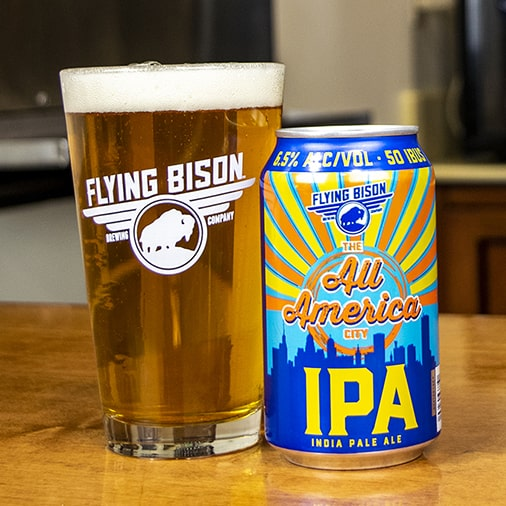The All America City IPA - Flying Bison Brewing - Buffalocal