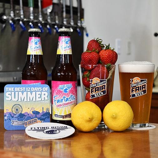 Fantastic Ale 2021 Lemon Strawberry - Flying Bison Brewing - Buffalocal