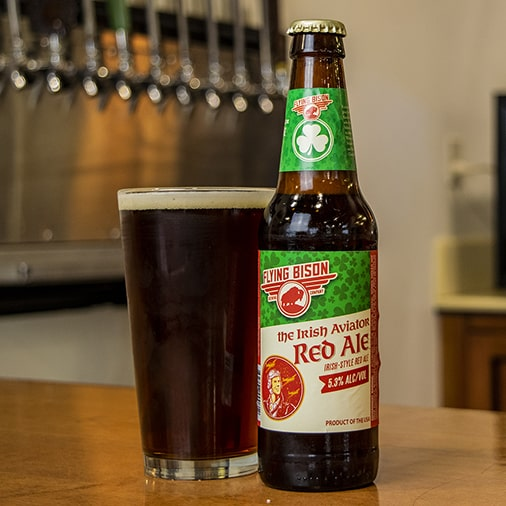 The Irish Aviator Red Ale - Flying Bison Brewing - Buffalocal