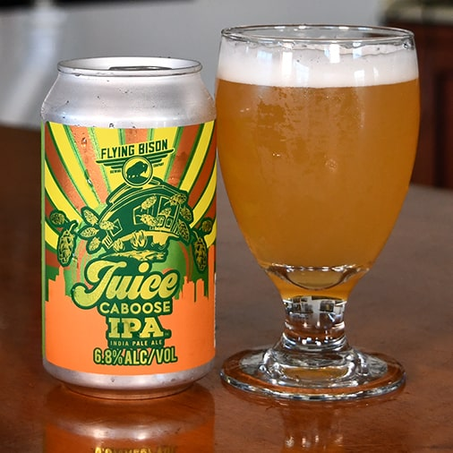 Juice Caboose IPA - Flying Bison Brewing Co - Buffalocal