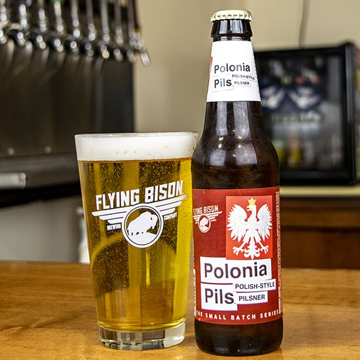 Polonia Pils Polish Style Pilsner - Flying Bison Brewing - Buffalocal