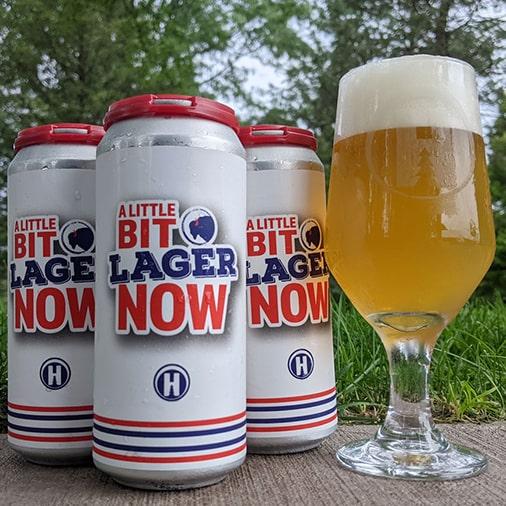 A Little Bit Lager Now - Hamburg Brewing - Buffalocal