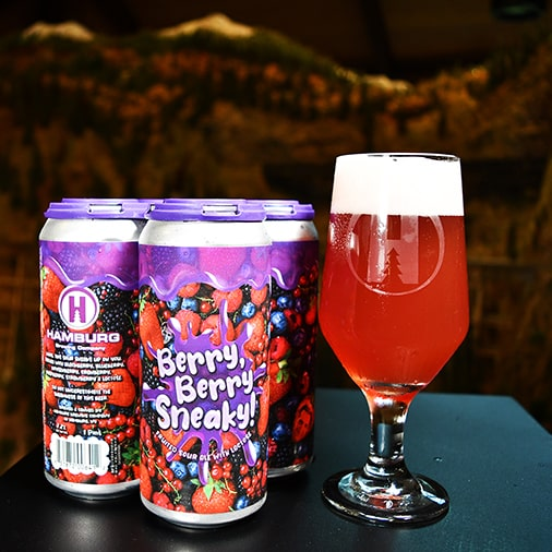 Berry Berry Sneaky Fruited Sour with Lactose - Hamburg Brewing - Buffalocal