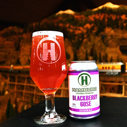 Blackberry Gose Session Ale - Hamburg Brewing - Buffalocal