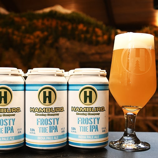 Frosty the IPA - Hamburg Brewing - Buffalocal