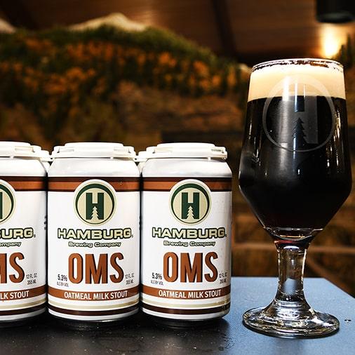 OMS Oatmeal Milk Stout - Hamburg Brewing - Buffalocal