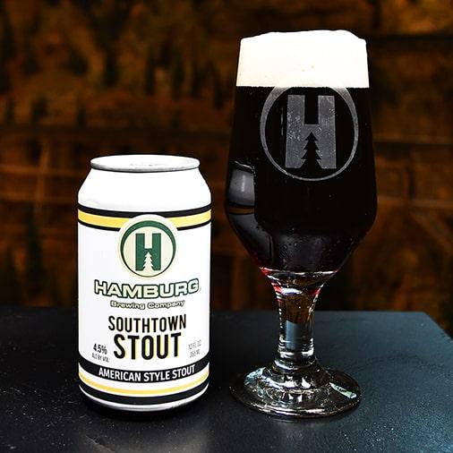 Southtown Stout American Style Stout - Hamburg Brewing - Buffalocal