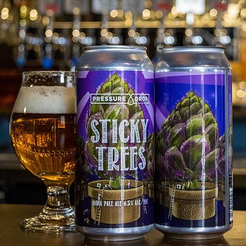 Sticky Trees IPA - Pressure Drop Brewing - Buffalocal