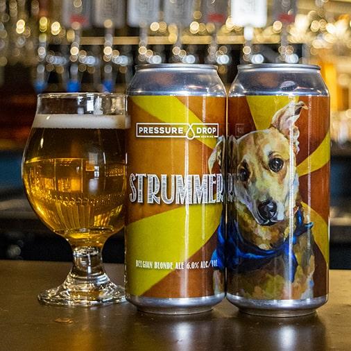 Strummer Belgian Blonde Ale - Pressure Drop Brewing - Buffalocal