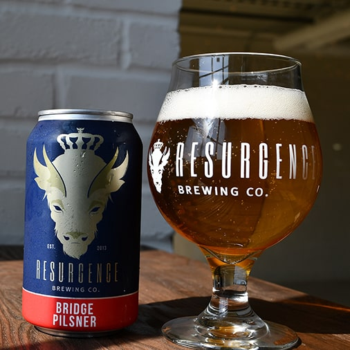 Bridge Pilsner - Resurgence Brewing - Buffalocal