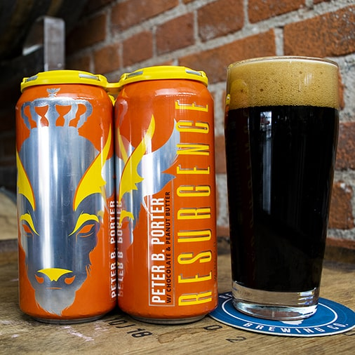 Peter B. Porter with Chocolate and Peanut Butter - Resurgence Brewing - Buffalocal
